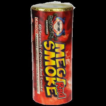 "alt=""mega smoke in red firework at nj fireworks store near nyc"""