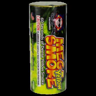 "alt=""mega smoke in yellow firework at nj fireworks store near nyc"""