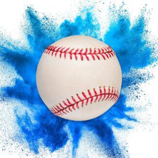 "alt=""gender reveal baseball in blue at nj fireworks store near nyc"""