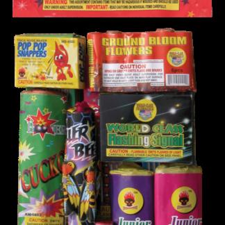 "alt=""kids delight childrens firework assortment at nj fireworks store near nyc"""