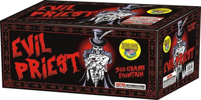 "alt=""evil priest 500 gram firework at nj fireworks store near nyc"""