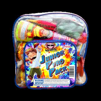 "alt=""junior pyro pack backpack fireworks for kids at nj fireworks store near nyc"""