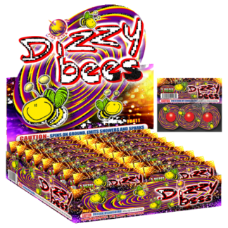 "alt=""dizzy bees novelty spinner firework at nj fireworks store near nyc"""