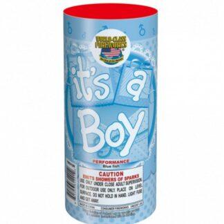 """alt=""""gender reveal firework for boy at nj fireworks store"""""""